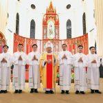 Thánh lễ truyền chức 7 phó tế